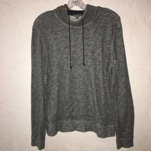 VINCE Gray Pullover Hoodie Size M